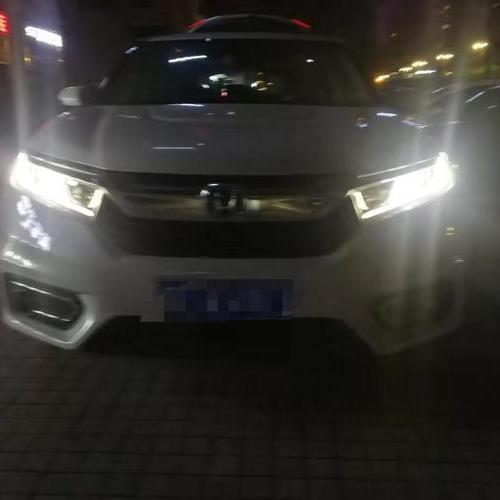 贵阳本田冠道车灯升级米石M2系列LED聚亮版双光透镜