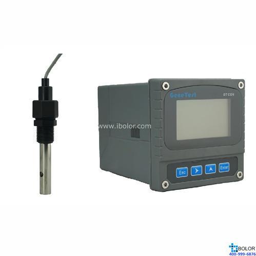 GTCON-430A 在線電阻率分析儀,0-18.25MΩ/cm,0-80℃,0.3MPA,10m,塑料1/2螺紋,主體不銹鋼
