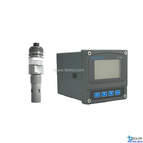 GTCON-420E 電導率鹽度分析儀 四極石墨電極,0-300000us/cm,0-300PPT,10m,NPT3/4螺紋