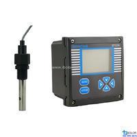 GTCON-500B 在线电导率仪 电导电极,10m, 1/2塑料螺纹,主体不锈钢,0-200us/cm GeneTest