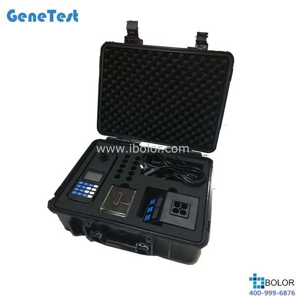 GTCNP-430P 便携式水质测定仪(COD、氨氮、总磷) 主机和消解器均用电池供电,真正便携 GeneTest