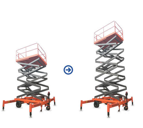 18米大剪叉升降平台