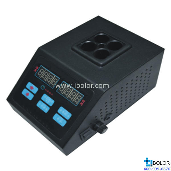 GTDR-4P多功能数控消解仪 GeneTest 室温~180℃ 无级可调,自动恒温控制
