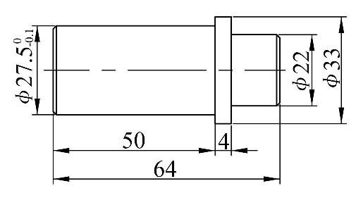 图3 活动定位销