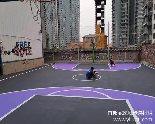 河北省邯鄲市區丙烯酸球場