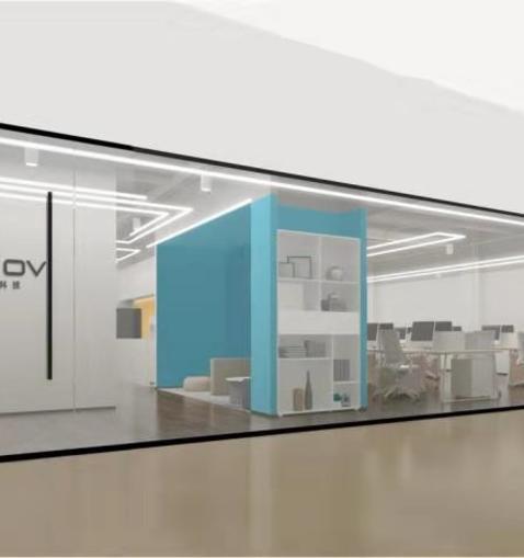 上海魔琺信息科技有限公司二期辦公室裝修設計