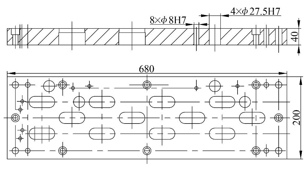 图5 凹模结构