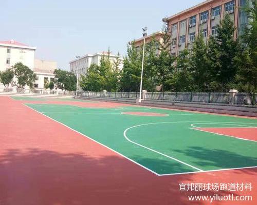 秦皇岛海港区硅PU球场