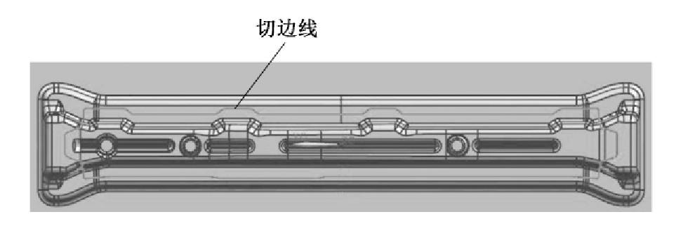 图2 工艺补充后的模型