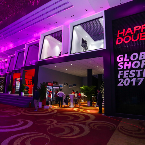 HAPPY DOUBLE 11 · GLOBAL SHOPPING FESTIVAL 2017