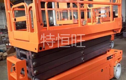 深圳某国外空调有限公司全电动剪叉