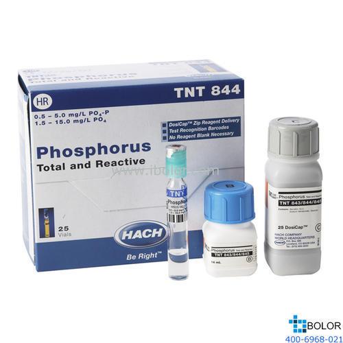 TNT844磷酸盐总磷试剂 1.5-15.0mg/L 100次 HACH/哈希 暂停订购
