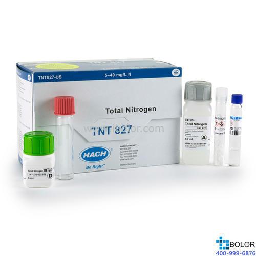 TNT827总氮试剂5-40mg/L 25次 HACH/哈希