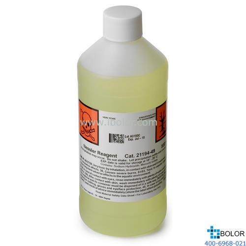 試劑,哈希 納氏試劑,500 mL,21194-49 2119449 哈希試劑 HACH/哈希