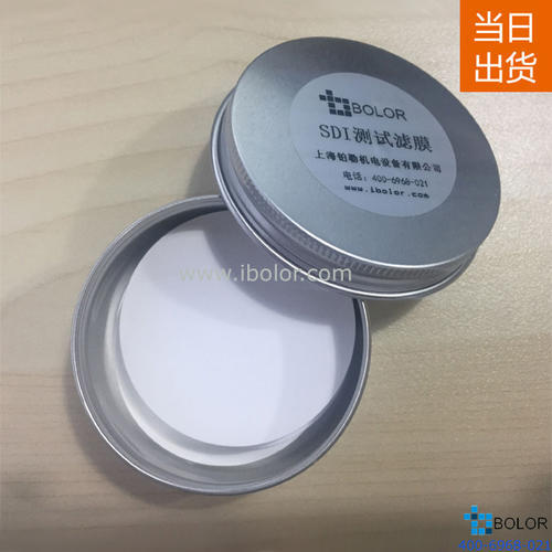 SDI测试滤膜、SDI滤膜、SDI-47滤膜 、污染指数滤膜、100片/盒