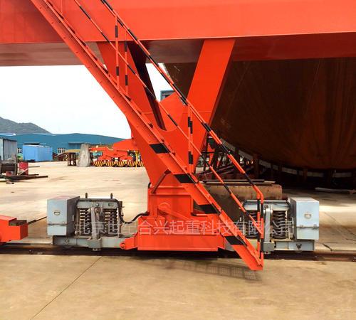 MQTHJ雷竞技电竞平台弹簧式液压夹轨器工程案例