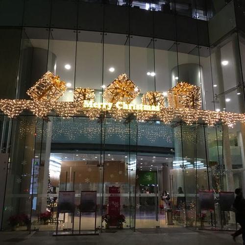 天安中心 圣诞布置