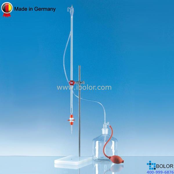 Brand/普蘭德組裝式自動回零滴定管,10mL AS級 PTFE滴定閥 23919
