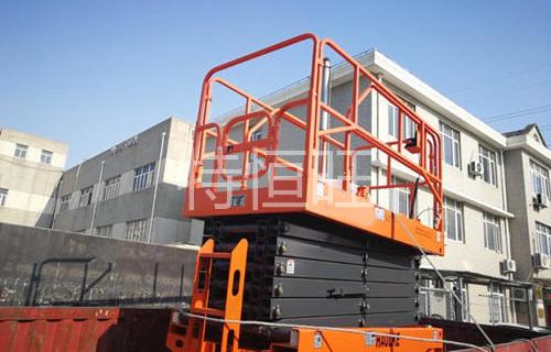 江苏某机械有限公司全电动剪叉高空平台