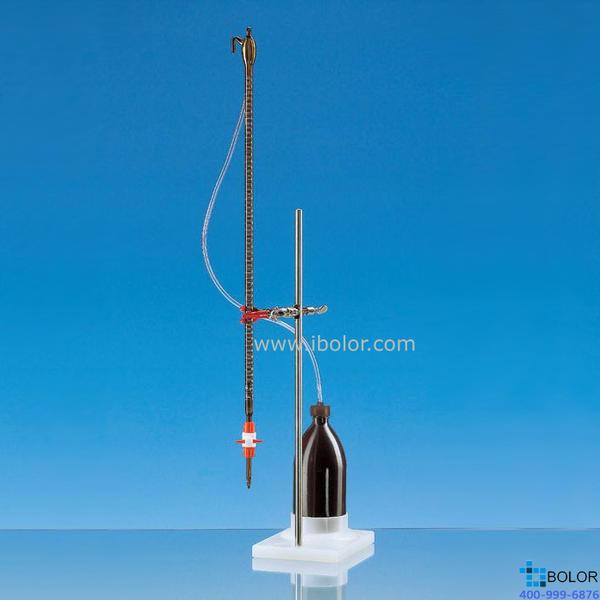 Brand/普蘭德組裝式自動回零滴定管,25mL B級 PTFE滴定閥 棕色 23829