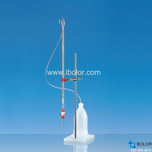Brand/普兰德组装式自动回零滴定管,10mL AS级 PTFE滴定阀 23819