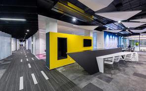 办公室装修设计走廊如何装饰