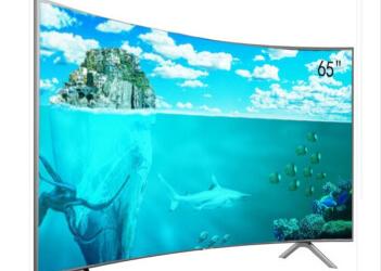 三星 UA65NU7300JXXZ 65英寸 大屏 4K超高清 智能 曲面 HDR 液晶电视机