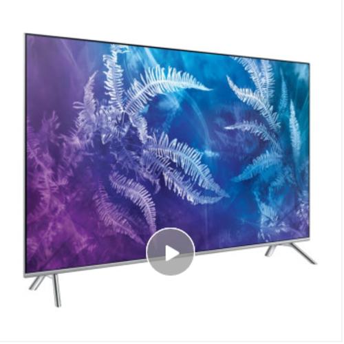 三星(SAMSUNG)QA55Q6FAMJXXZ 55英寸QLED平面量子点4K智能网络窄框超薄电视