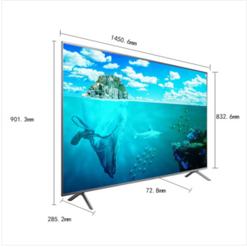 三星(SAMSUNG)UA65NU7000JXXZ4K超高清智能网络液晶电视三面超窄边框65英寸 官方标配