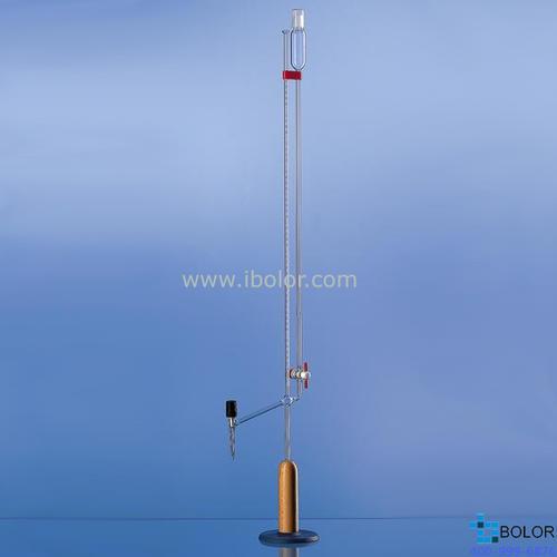 Brand/普兰德微量滴定管,10mL AS级 PTFE阀芯 24599