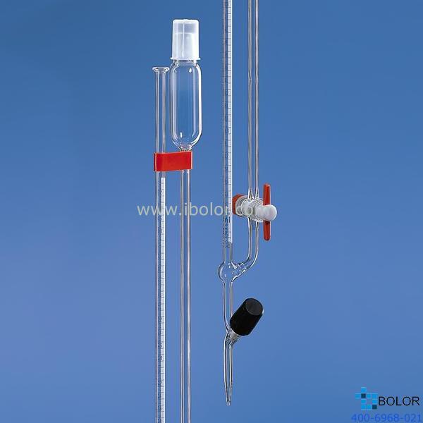 Brand/普兰德微量滴定管,10mL AS级 PTFE阀芯 直滴型 24269