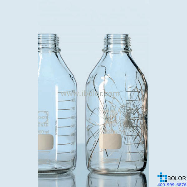DURAN 25mL 镀膜防爆瓶 GL 45口径, DIN螺纹,塑料镀膜 1092676