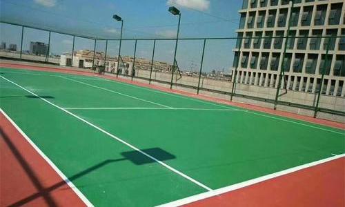 上海羽毛球场地坪怎么施工?