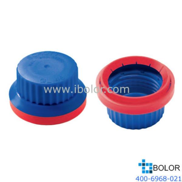 Schott 蓝色密封螺旋防盗盖子 直径66mm,CL45 Schott/肖特 1017526