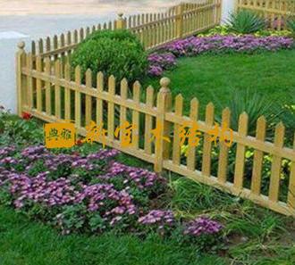 防腐木围栏工序