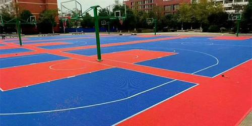 悬浮篮球场