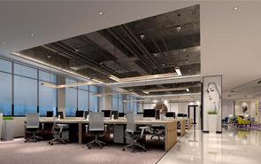 上海办公室装修设计之办公室灯光调节的问题