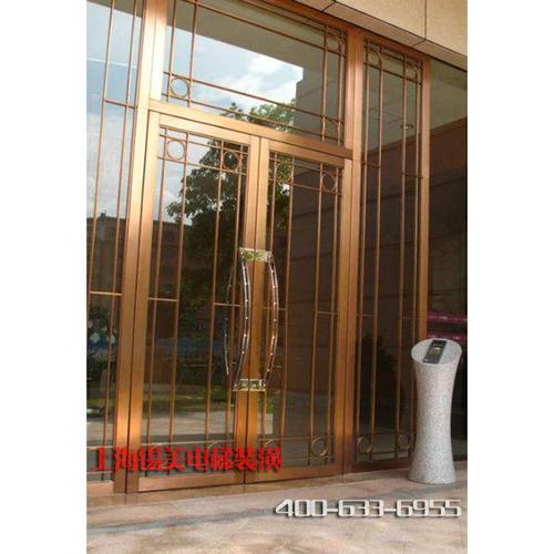 不锈钢玻璃门2