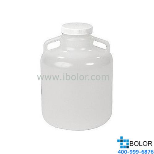 Nalgene帶手柄的廣口大瓶,2235-0050 容量20L PP材質 可高溫高壓 NALGENE