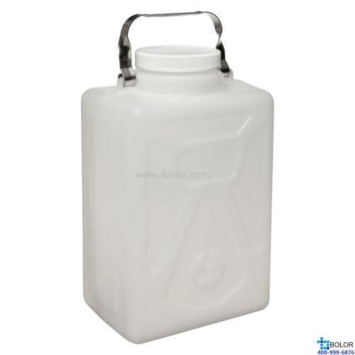 Nalgene矩形细口大瓶,2211-0020 容量10L HDPE材质 NALGENE/耐洁