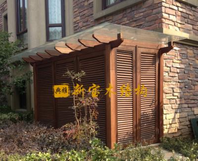 防腐木设备房