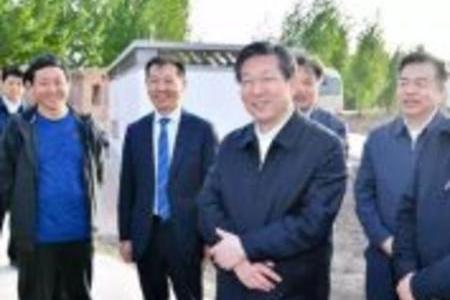 河北省市级领导调研雄安新区 生态环境建设大有可为