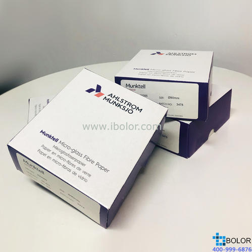 Munktell 石英纤维滤纸,圆形 直径102mm;瑞典原装进口 50片/盒