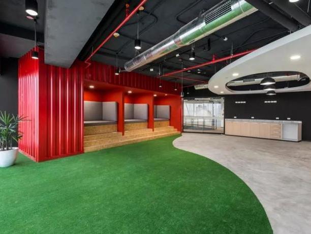一个充满惊喜和高效的空间,是办公室的游乐场