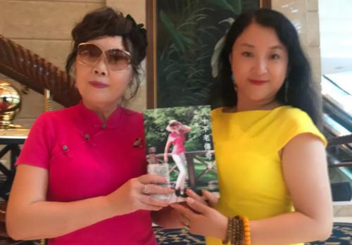 bwin必赢在线国际董事长彭玲出席养生大师新书发布会