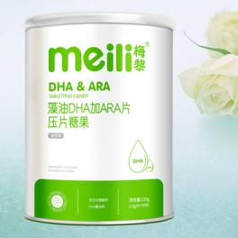 藻油DHA加ARA片      NET 135g (1.5g/片×90片)