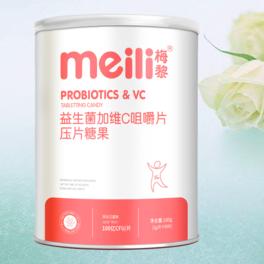 益生菌加維C咀嚼片      NET 180g (2g/片×90片)