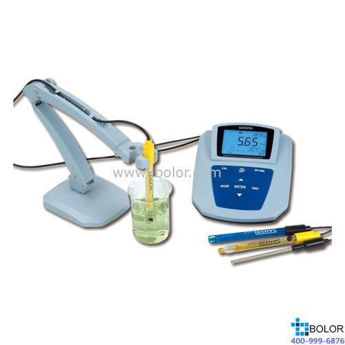 MP522台式pH/电导率仪(精密型) 900组数据存储 RS232接口 配置pH、电导电极