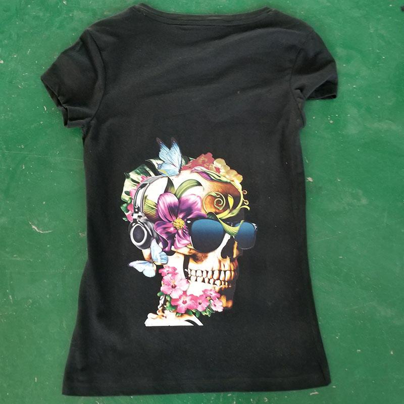 color jet A3 dtg printer for black t-shirt