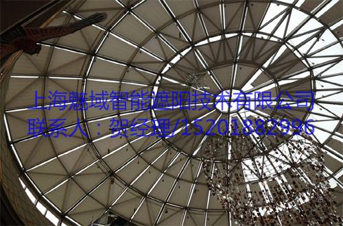 FSS电动天棚帘,上海魅域智能遮阳技术有限公司